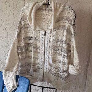 Free People Loose Weave Sweater in Medium